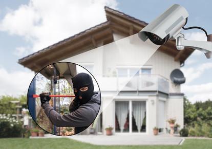 Kameraüberwachung Einbrecher