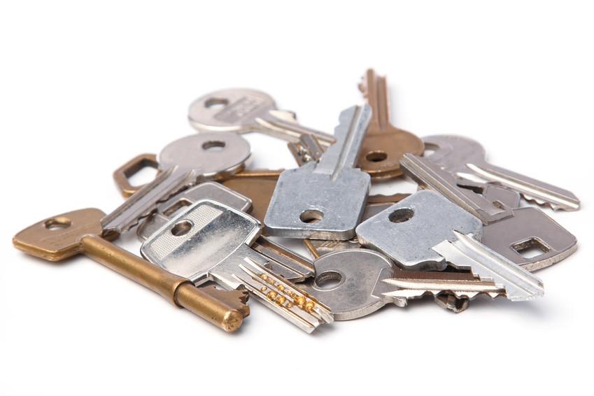 Haufen verschiedener Schlüssel